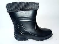 Женские резиновые ботинки на утеплителе , фото 1