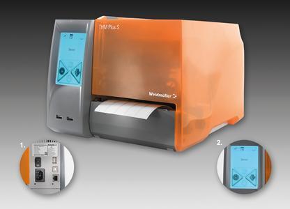 Принтер стермотрансферной печатью Weidmuller THM Plus S