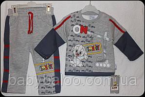 Костюм для хлопчика вишивка Долматинці (від 1 до 4 років) начісування - арт.67659963