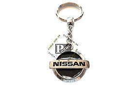 Брелок Mine Nissan серебро - Брелок для ключей Ниссан
