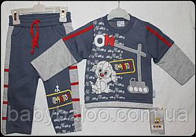Костюм для хлопчика вишивка Долматинці (від 1 до 4 років) начісування - арт.67660019