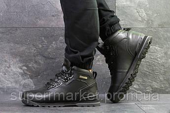 Кроссовки Timberland, черные  зима , код6632, фото 3
