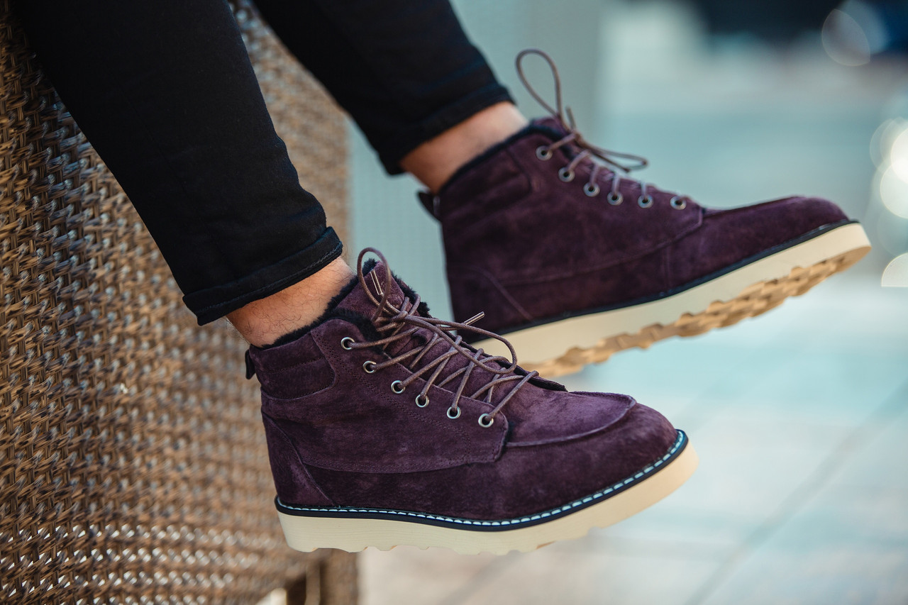"""Зимние ботинки на меху South Indigo """"Коричневые"""""""