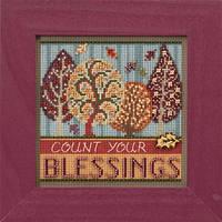 Набор для вышивки крестиком и бисером Blessings Mill Hill