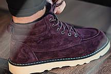 """Зимние ботинки на меху South Indigo """"Коричневые"""", фото 2"""