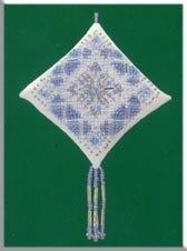 Набор для вышивки Mill Hill Ice Blue Snowflake