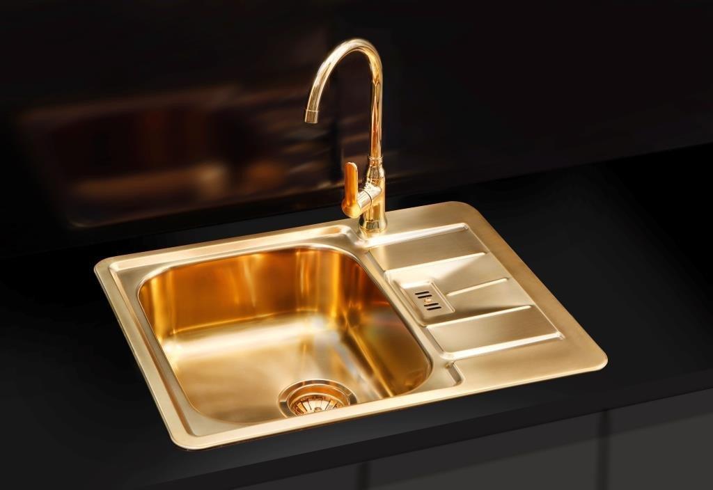 Кухонная мойка ALVEUS MONARCH LINE 60 золото 1069001