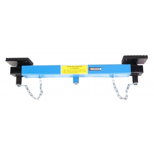 Балка-адаптер раздвижная для подкатных домкратов 2т (общая длина: 700 - 1050мм)