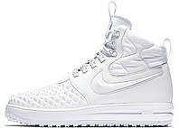 Мужские кроссовки Nike Lunar Force 1 Duckboot 17 White (найк лунар форс 1  дакбут, 3fed1dcf667
