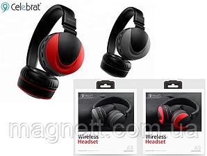 Бездротові Bluetooth-навушники Celebrat A9 Wireless Headset Shoked Bass