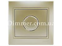 Диммер 500 Вт с фильтром ТМ LEZARD серии Mira жемчужно-белый перламутр