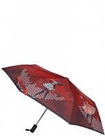 Женский зонт красный A3-05-0283S ELEGANZZA