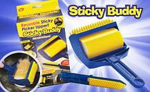 Щетка для чистки одежды ковра Sticky Buddy, фото 2