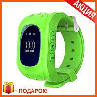 Smart Baby Watch Детские часы-телефон Q50 Зеленые GREEN Качество