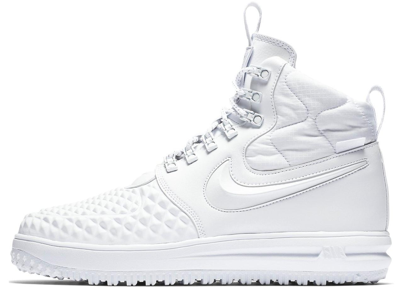 847e0373 Мужские кроссовки Nike Lunar Force 1 Duckboot 17 White (найк лунар форс 1  дакбут,