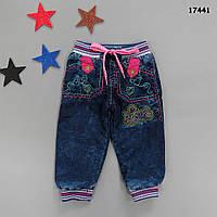Теплые джинсы для девочки. 1, 2 года