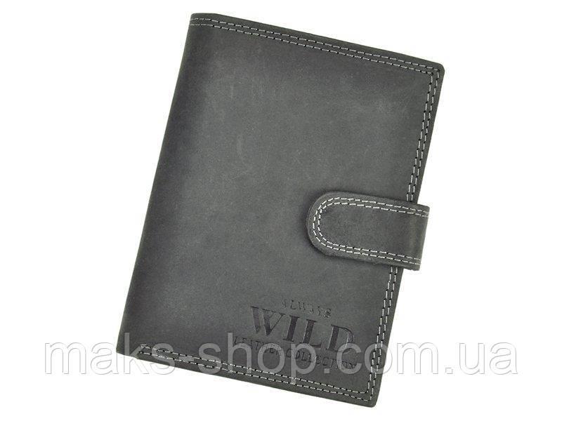 64cd6a096616 Вместительный мужской кожаный кошелек, отличный подарок - Maks Shop-  надежный и перспективный интернет магазин