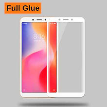 Защитное стекло Optima 3D Full Glue для Xiaomi Redmi 6a White
