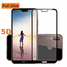 Защитное стекло OP 5D Full Glue для Huawei P20 Pro черный