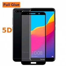 Защитное стекло OP 5D Full Glue для Huawei Y6 Prime 2018 черный