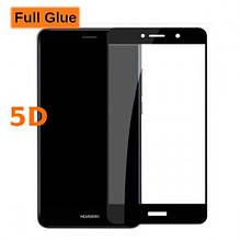 Защитное стекло OP 5D Full Glue для Huawei Y7 Prime 2018 черный