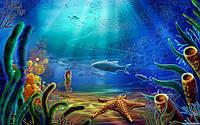 Обои эстампные - персональные Подводный мир