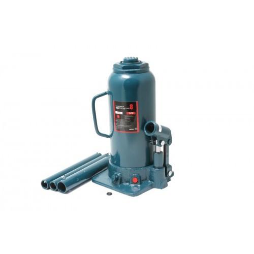 Домкрат бутылочный двухштоковый с клапаном + доп. рем.к-т,8т (h min 270мм, h max 635мм)