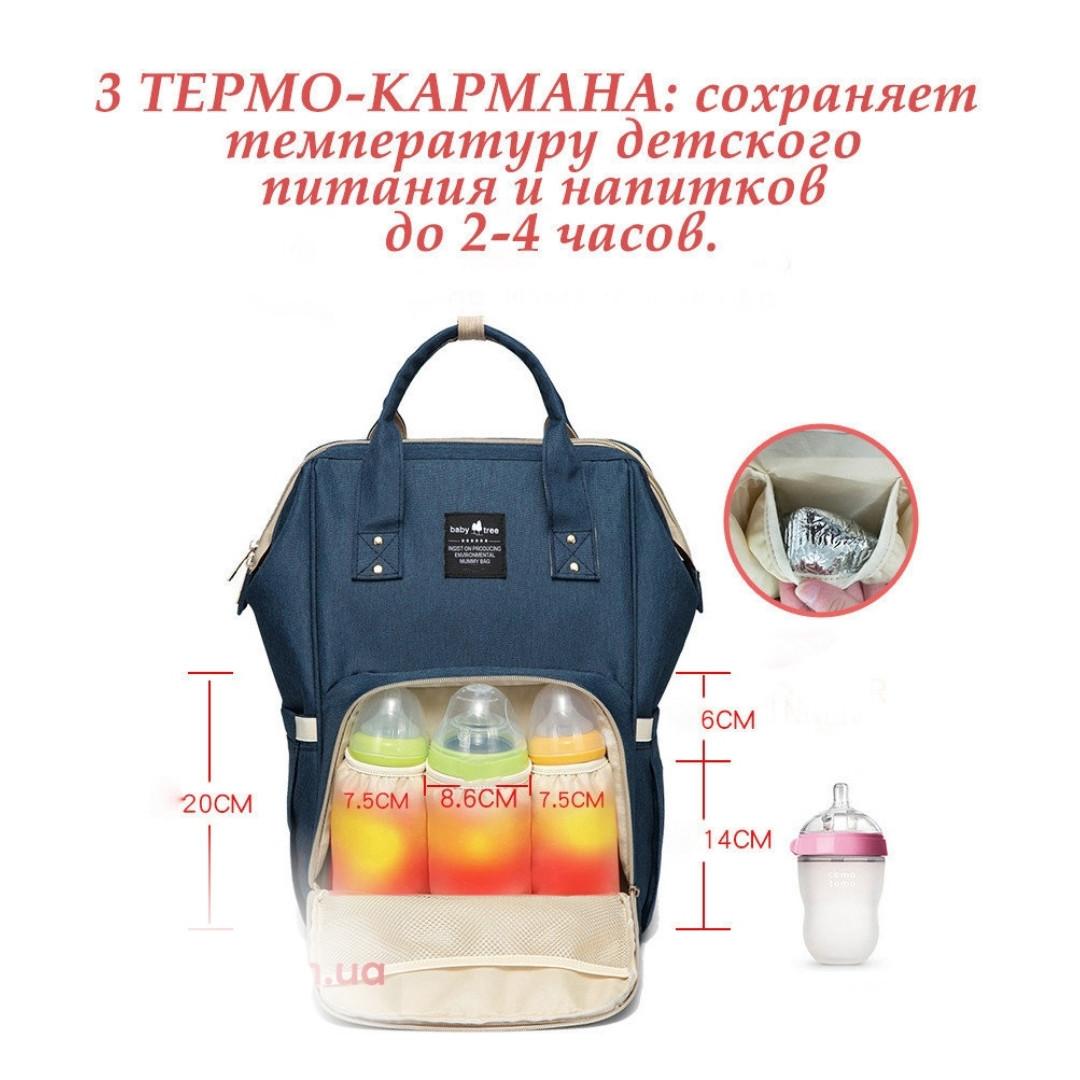 "Рюкзак для Мамы органайзер. На Прогулку Mom Bag ""baby kingdom"""