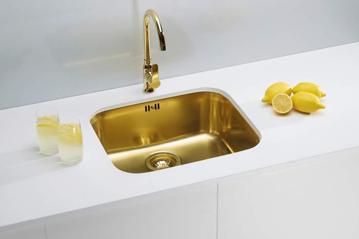 Кухонная мойка ALVEUS MONARCH VARIANT 10 золото 1070628