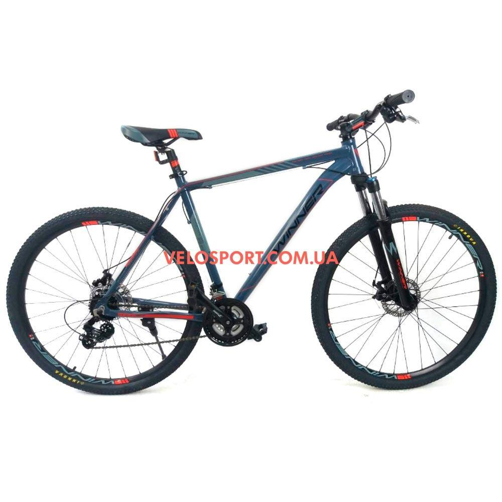 """Горный велосипед Winner Impulse 29 дюймов 22"""" серый"""
