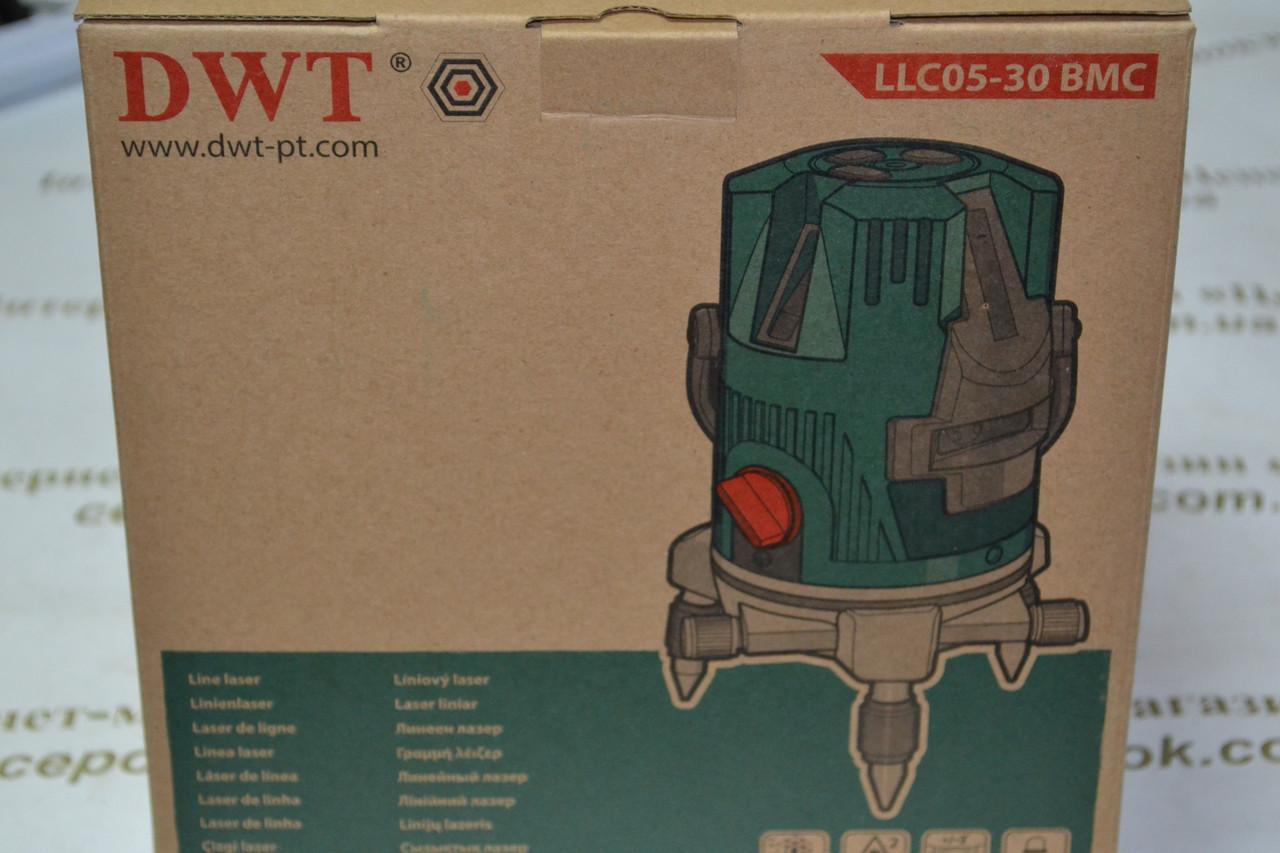 Лазерний рівень DWT LLC05-30, 5 ліній, 30метрів
