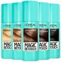 Спрей тонуючий Magic retouch Loreal 75ml темно каштановий