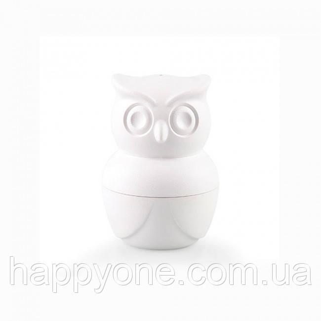 Шейкер для соли и перца Morning Owl Qualy (белый)