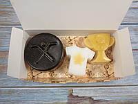 """Подарочный набор мыла """"Игроку в хоккей""""  №2 (хенд мейд)"""