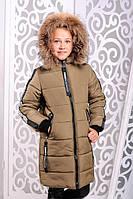 Детская зимняя куртка для девочки «Челси» ТМ MANIFIK