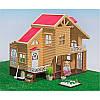 Загородный домик Happy family 012-03 с флоксовыми животными, фото 4