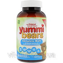 Hero Nutritional Products, Вкусные мишки, полный комплекс, натуральные вкусы 200 мишек