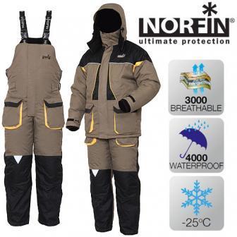 Костюм зимний мембранный Norfin ARCTIC -25 ° / 4000мм -M
