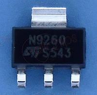 Тразистор NPN 600В 0.5А STM STN9260 SOT223