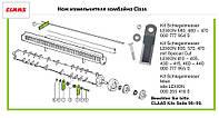 Нож измельчителя комбайна Claas Lexion 580, 480, 470, 755875.0