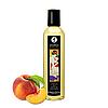 Массажное масло Shunga Stimulation Peach (персик) 250ml