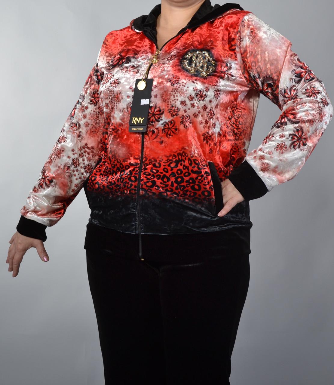 Велюровый брендовый костюм Турция разм 50,52,54,56