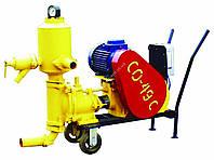 Растворонасос штукатурного раствора тип CO-49 (Двигатель 4 кВт)