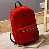 Рюкзак городской мужской женский Teenage Красный