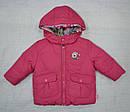 Куртка зимняя для девочки 2-сторонняя розовая (р.80-98 см) (QuadriFoglio, Польша), фото 2