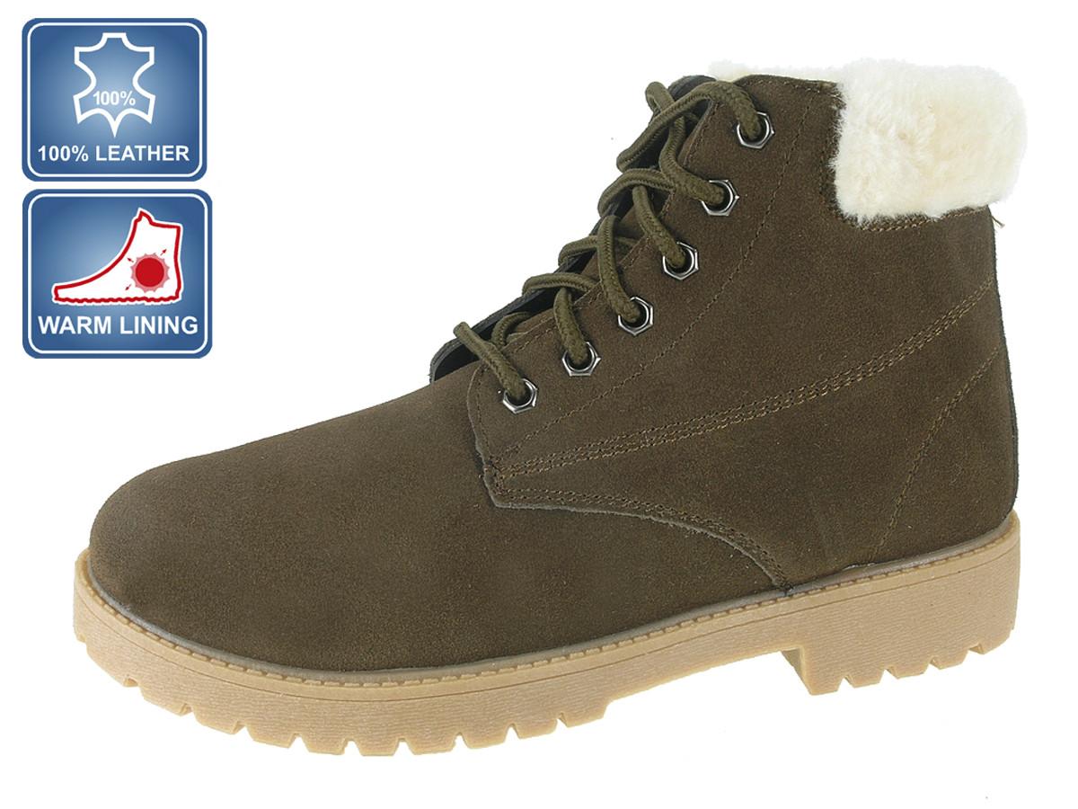 Ботинки женские замшевые Beppi 2167341