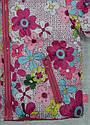 Куртка зимняя для девочки 2-сторонняя розовая (р.80-98 см) (QuadriFoglio, Польша), фото 5