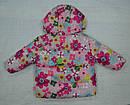 Куртка зимняя для девочки 2-сторонняя розовая (р.80-98 см) (QuadriFoglio, Польша), фото 8