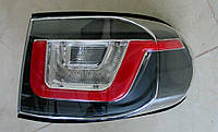 FJ Cruiser оптика задняя стиль Evoque черная / LED taillights Evoque style restyling black