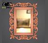 Зеркало настенное Dalian в черной с белым раме, фото 8